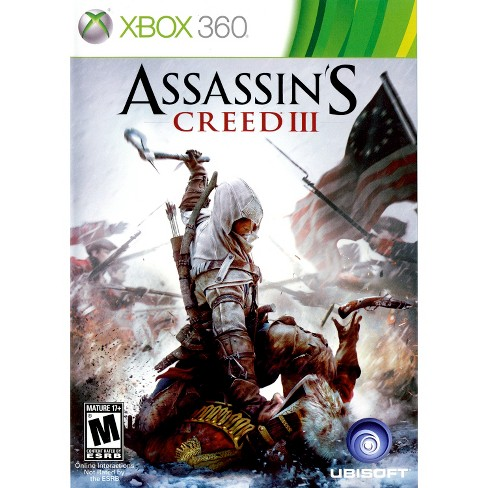 Assassin's Creed III PRE-OWNED Xbox 360 - image 1 of 1