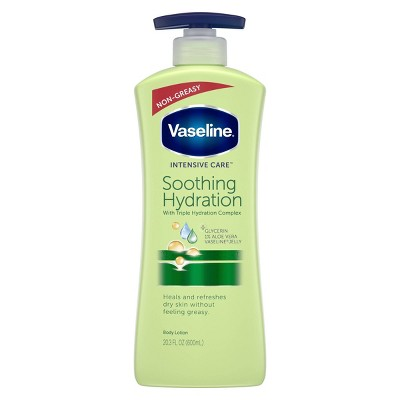 Vaseline Intensive Care Soothing Hydration Body Lotion - Aloe - 20.3 fl oz