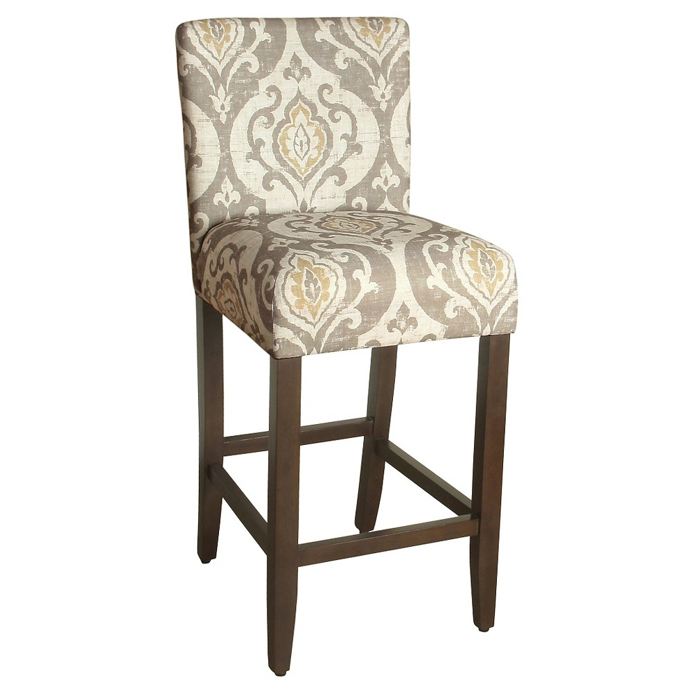 Bar Stool - 29- Natural Raffia - HomePop was $139.99 now $111.99 (20.0% off)