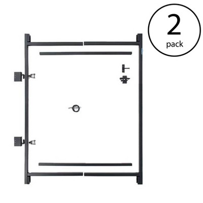 "Adjust-A-Gate Steel Frame Gate Building Kit, 36""-60"" Wide Opening Up To 7' High"