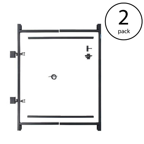 """Adjust-A-Gate Steel Frame Gate Kit, 36""""-60"""" Wide Opening Up To 7' High (2 Pack) - image 1 of 4"""