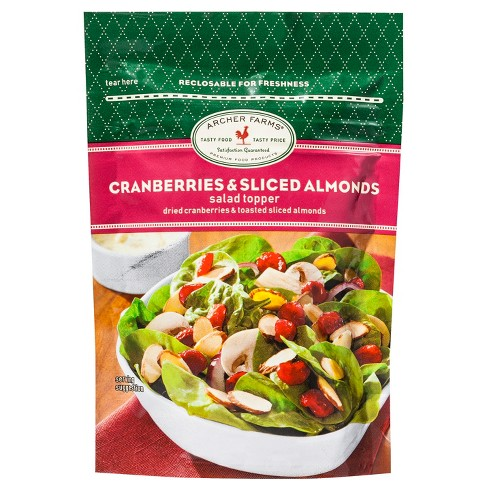 Cranberries & Sliced Almonds Salad Topper - 3oz - Archer Farms™ - image 1 of 1