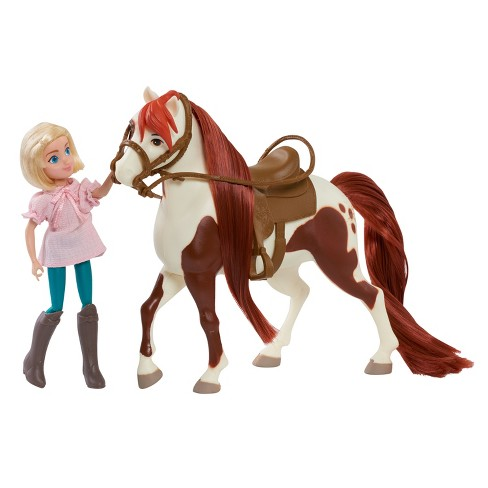 Spirit Riding Free Small Doll & Classic Horse - Abigail & Boomerang - image 1 of 5