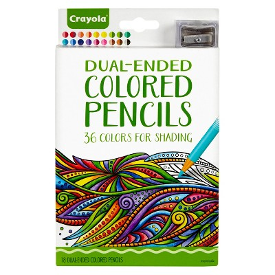Crayola Dual-Ended Colored Pencils 18ct