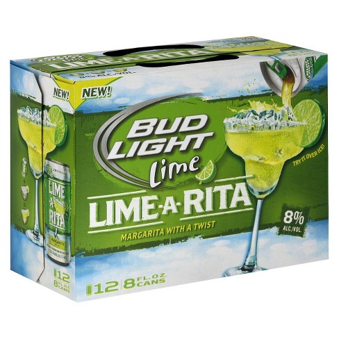 Bud Light® Lime Lime-A-Rita Beer - 12pk / 8oz Cans - image 1 of 1