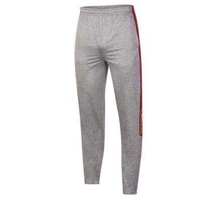 NCAA Florida State Seminoles Men's Gray Athletic Jogger Pants