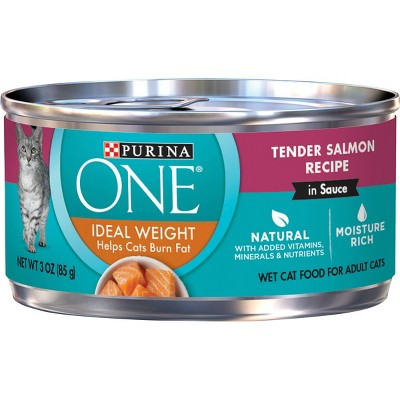 Purina ONE Ideal Wight Wet Cat Food - 3oz