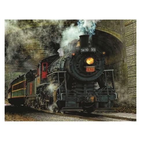 Springbok Green Mountain Express Puzzle 100pc - image 1 of 2