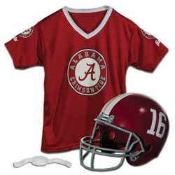 3a499beba ... Football Helmet Uniform Set. NCAA Franklin Helmet and Jersey Costume Set
