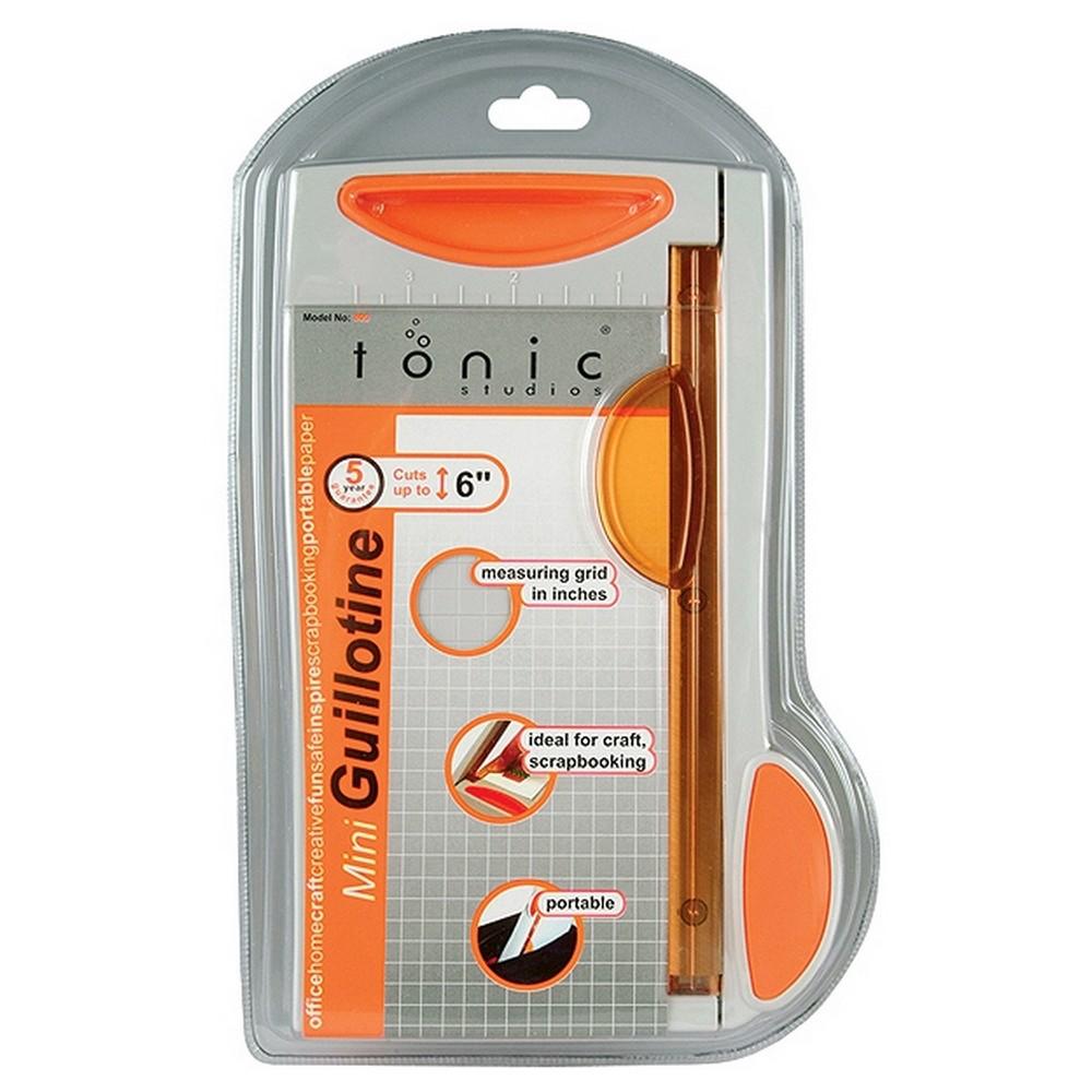 Tonic Mini Guillotine Paper Trimmer - 6, Multi-Colored