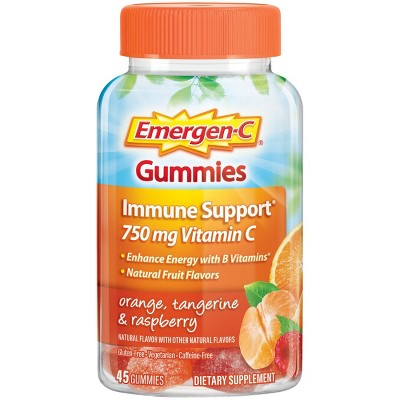 Cold & Flu: Emergen-C Immune Support Gummies