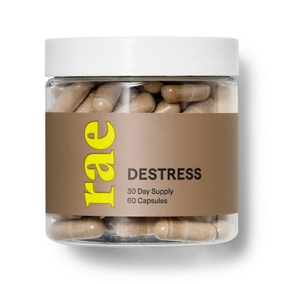 Rae Destress Dietary Supplement Capsules - 60ct