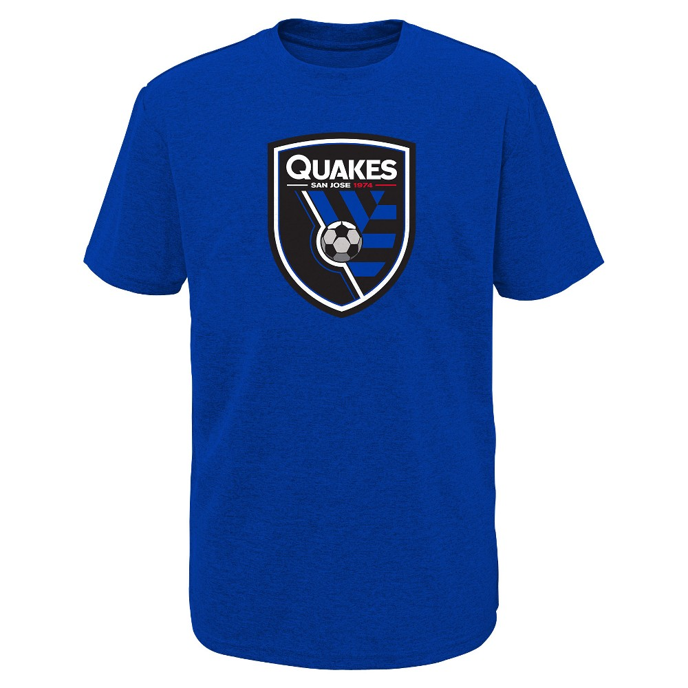 Mls Boys Poly T-Shirt San Jose Earthquakes - L, Multicolored
