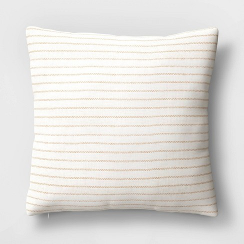 Square Striped Throw Pillow - Threshold™ - image 1 of 4