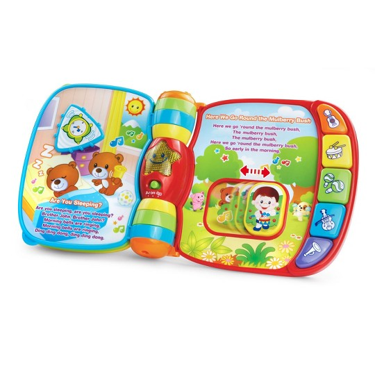 VTech Musical Rhymes Book image number null