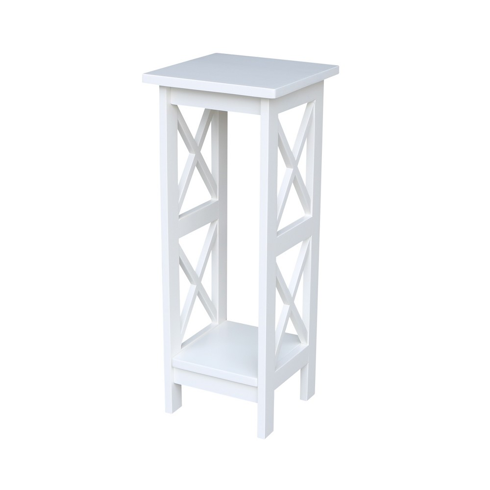 30 X - Sided Plant Stand - Snow White - International Concepts