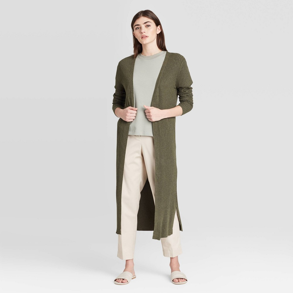 Women's Long Sleeve Cardigan - Prologue Green S was $32.99 now $23.09 (30.0% off)