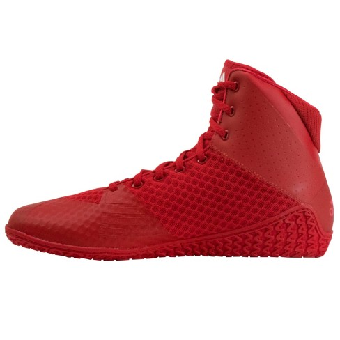 Adidas Men s Mat Wizard 4 Wrestling Shoes - Red   Target 415e10610b27