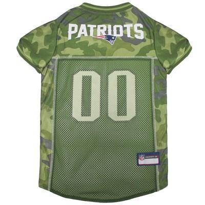 NFL New England Patriots Pets First Camo Pet Football Jersey - Camo XL