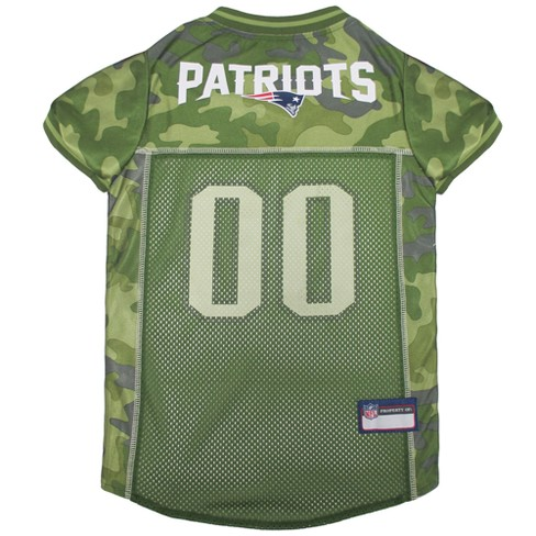 fd73796c0a8 NFL Pets First Camo Pet Football Jersey - New England Patriots   Target