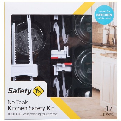 Safety 1st No Tools Kitchen Safety Kit