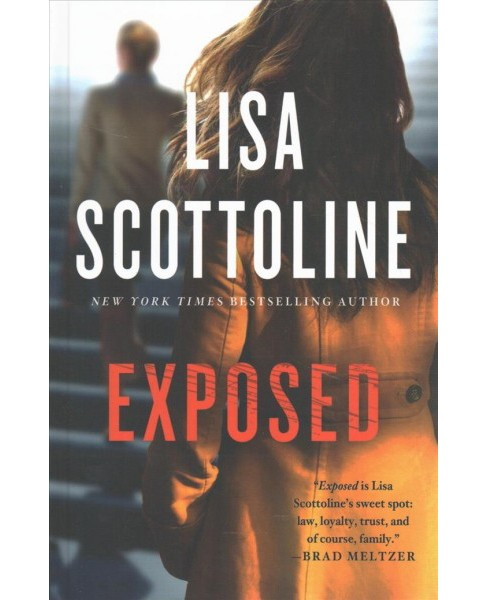 Exposed -  (Wheeler Large Print Book Series) by Lisa Scottoline (Hardcover) - image 1 of 1
