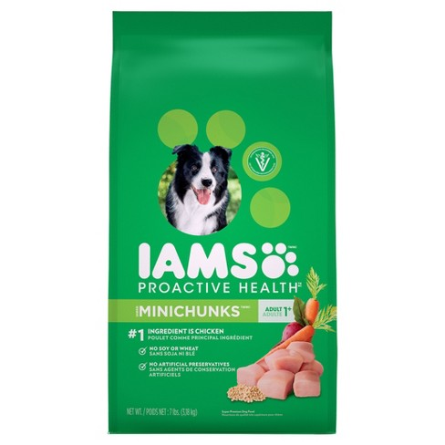 Iams ProActive Health Adult MiniChunks Chicken Flavor Dry Dog Food - image 1 of 3