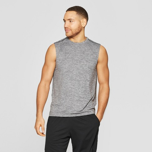 bb9aad0d876 Men's Sleeveless Tech T-Shirt - C9 Champion® Black Heather L : Target