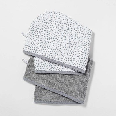 2pk Hair Wrap Gray - Room Essentials™