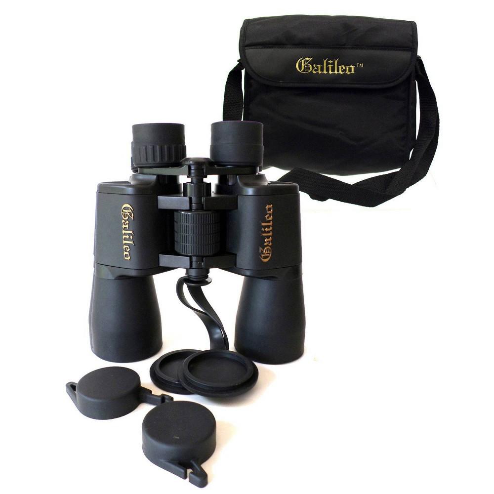 Image of Galileo Binoculars - Black 12x50