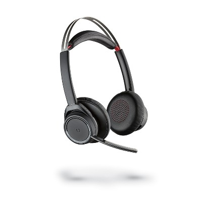 Plantronics - Voyager Focus UC Headset B825m for Microsoft - Dual Ear (Stereo) Headset - Microsoft Teams Certified Version - Plantronics a Poly Company