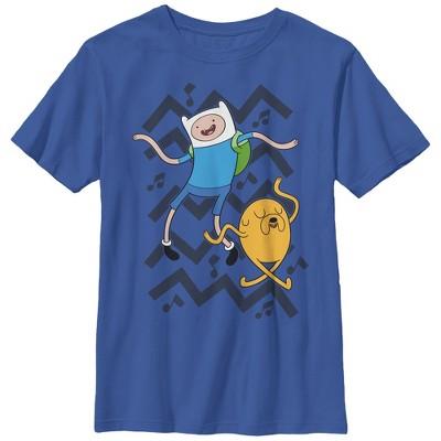 Boy's Adventure Time Finn and Jake Dance T-Shirt