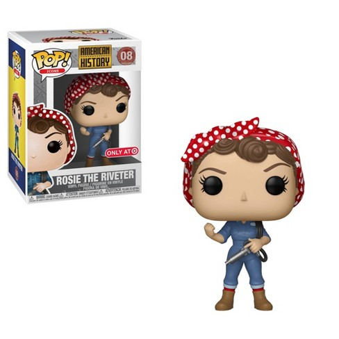 Funko POP! Icons: American History - Rosie the Riveter (Target Exclusive) - image 1 of 3