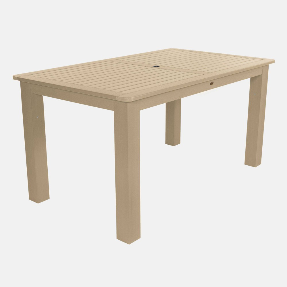 """Image of """"72"""""""" Rectangular Counter Height Dining Table Tuscan Taupe - highwood, Beige"""""""