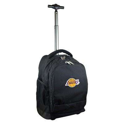 NBA® Mojo Premium Wheeled Backpack - Black