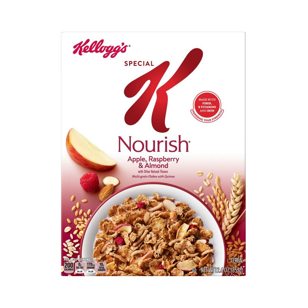 Special K Nourish Apple Raspberry Almond Breakfast Cereal - 12.6oz - Kellogg's