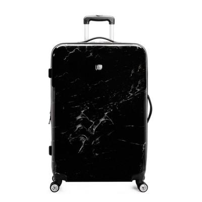 SWISSGEAR 28  Hardside Suitcase - Black Marble
