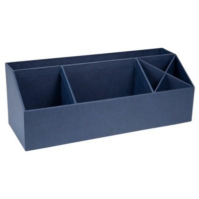 Elisa Desk Organizer Navy - Bigso Box of Sweden