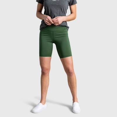 """Women's United By Blue 8.5"""" Recycled High-Rise Bike Shorts"""