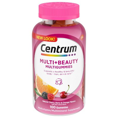 Centrum Multi Gummies for Health & Beauty - 100ct