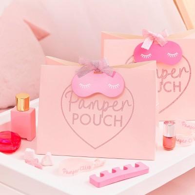 Glitter Pamper Pouch Pink