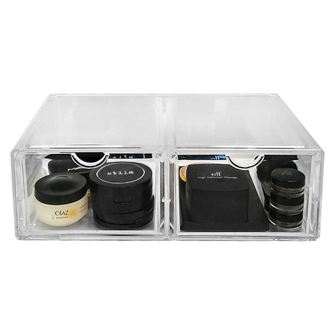 Sorbus Stackable Makeup Storage Case - 2 XL Drawers - image 1 of 3