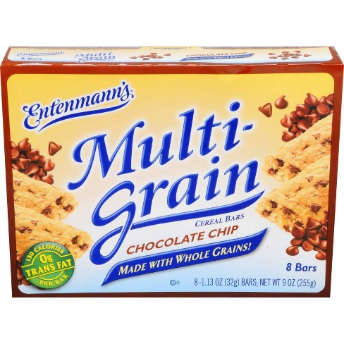 Entenmann's Multi-Grain Chocolate Chip Cereal Bars - 8ct - image 1 of 4