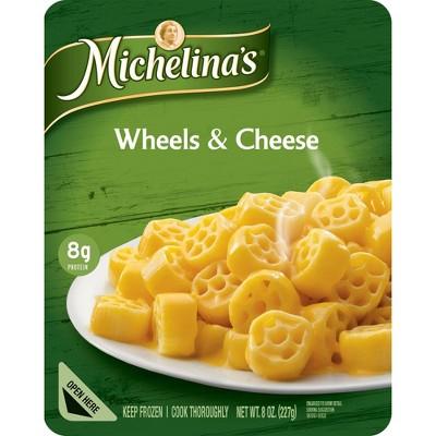 Michelina's Frozen Wheels & Cheese - 8oz