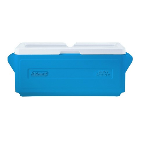Coleman 25 Quart Party Stacker Cooler 24 Can Capacity Blue - image 1 of 1