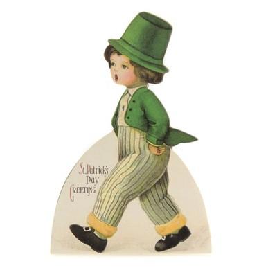 "Saint Patricks 6.0"" St Pat's Dummy Board Greetings Morn Charm  -  Decorative Figurines"