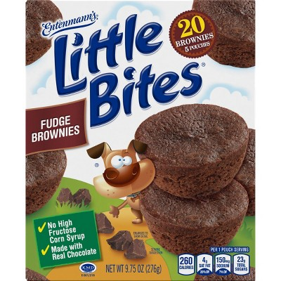 Entenmann's Little Bites Brownie Muffins - 8.25oz