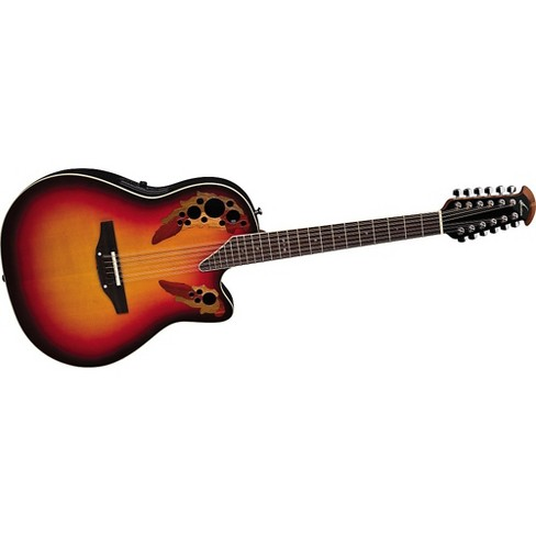 Ovation Standard Elite 2758 AX 12-String Acoustic-Electric Guitar New England Burst - image 1 of 2