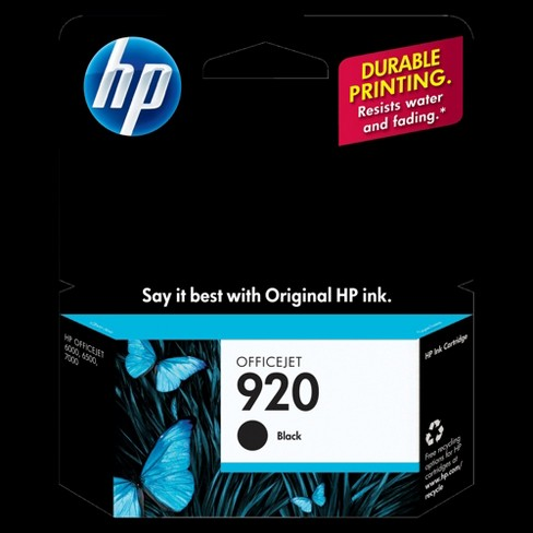 Hp 920 Single 3pk Ink Cartridges Black Multicolor