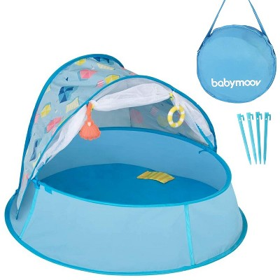 Babymoov Aquani Protective Pop-Up 3-in-1 Portable Inside/Outside Baby and Toddler Kiddie Pool Playpen Area